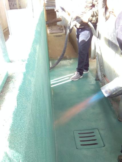 powder coating example